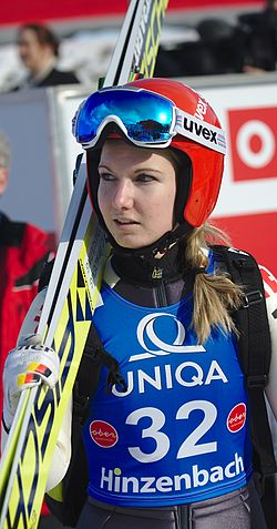 FIS Ski Jumping World Cup Ladies Hinzenbach 20170205 DSC 0367.jpg