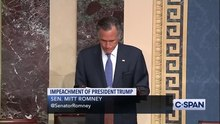 Archivo:FULL REMARKS -- Senator Mitt Romney to vote to convict President Trump on Abuse of Power.webm