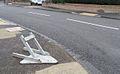 Fallen Sign - geograph.org.uk - 644305.jpg