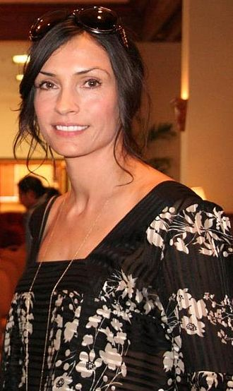 Famke Janssen - Janssen in October 2008