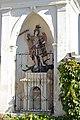 Feistritz Sankt Michael ob Bleiburg Friedhof-Einfriedung Bildstock hl Michael 09102014 737.jpg