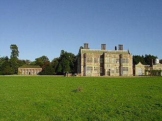 John Wyndham (1558–1645) - Felbrigg Hall, viewed from the south, as rebuilt circa 1620-24 by Sir John Wyndham for his 3rd son Thomas