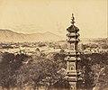 Felice Beato (British, born Italy - (View of the Summer Palace. Yuan Ming Yuan Pagoda. Before the Burning, Pekin, October 18, 1860) - Google Art Project.jpg