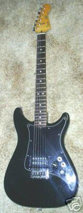 Fender Lead Series - Image: Fender Black Lead I Sold