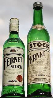 Fernet Stock Herbal bitters from the Czech Republic