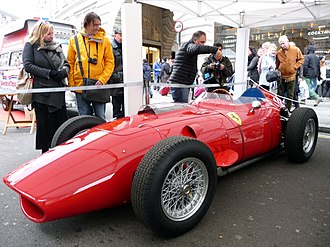 Ferrari 246 F1 - A 246 F1 in exhibition in Regent Street, in 2016.