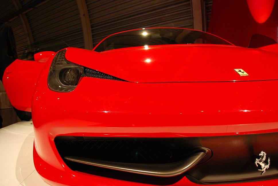 Ferrari 458 Italia calandre