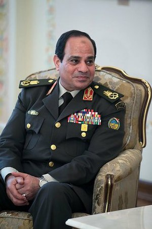 Abdel Fattah el-Sisi - Field Marshal Sisi as Minister of Defence, 2014