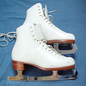 English: User:Dr.frog's figure skates. This is...