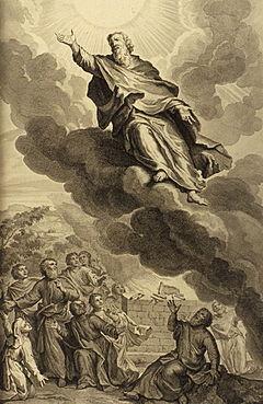 God Taking Enoch
