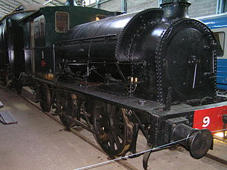 Finnish Steam Locomotive Class B1 - Class B1 Nº 9 in the Finnish Railway Museum