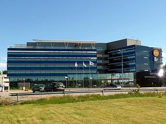 Helsinki Airport - Finnair head office, House of Travel and Transportation
