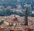 Firenze - Chiesa di Santo Spirito da cupola Duomo.JPG
