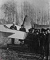 First Airplane (Blériot XI) in Iran - 4th January 1914 in Tehran - Ahmad Shah Qajar (Center) and Kosminsky (Polish Pilot) (Left) - Illustration (French Magazine).jpg