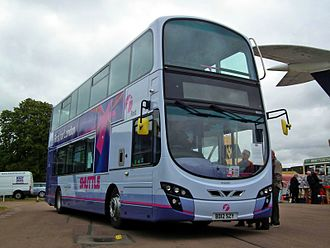 FirstGroup - Wright Eclipse Gemini bodied Volvo B9TL in September 2012