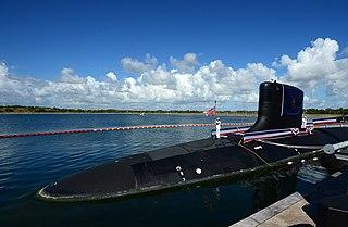 USS <i>Indiana</i> (SSN-789) US Navy Virginia-class submarine
