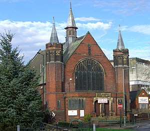 Listed buildings in Sheffield S5 - Image: Firth Park Methodist Church, Sheffield