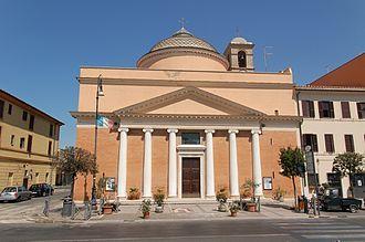 Giuseppe Valadier - Santa Maria della Salute, Fiumicino