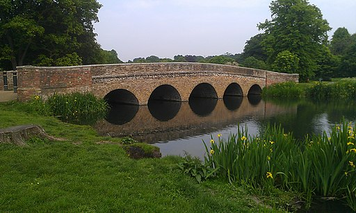 Five Arches Bridge at Foots Cray Meadows, Western Side