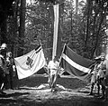 Flag, scouting, maidenhair Fortepan 55932.jpg