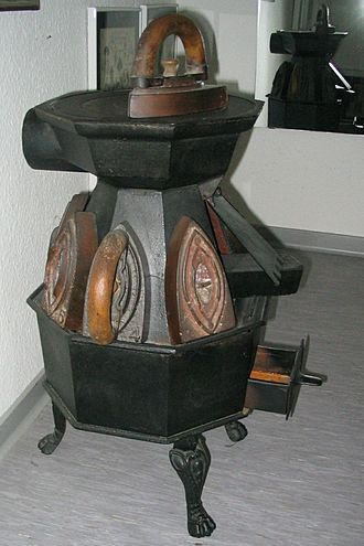 Ironing - A tailor's stove