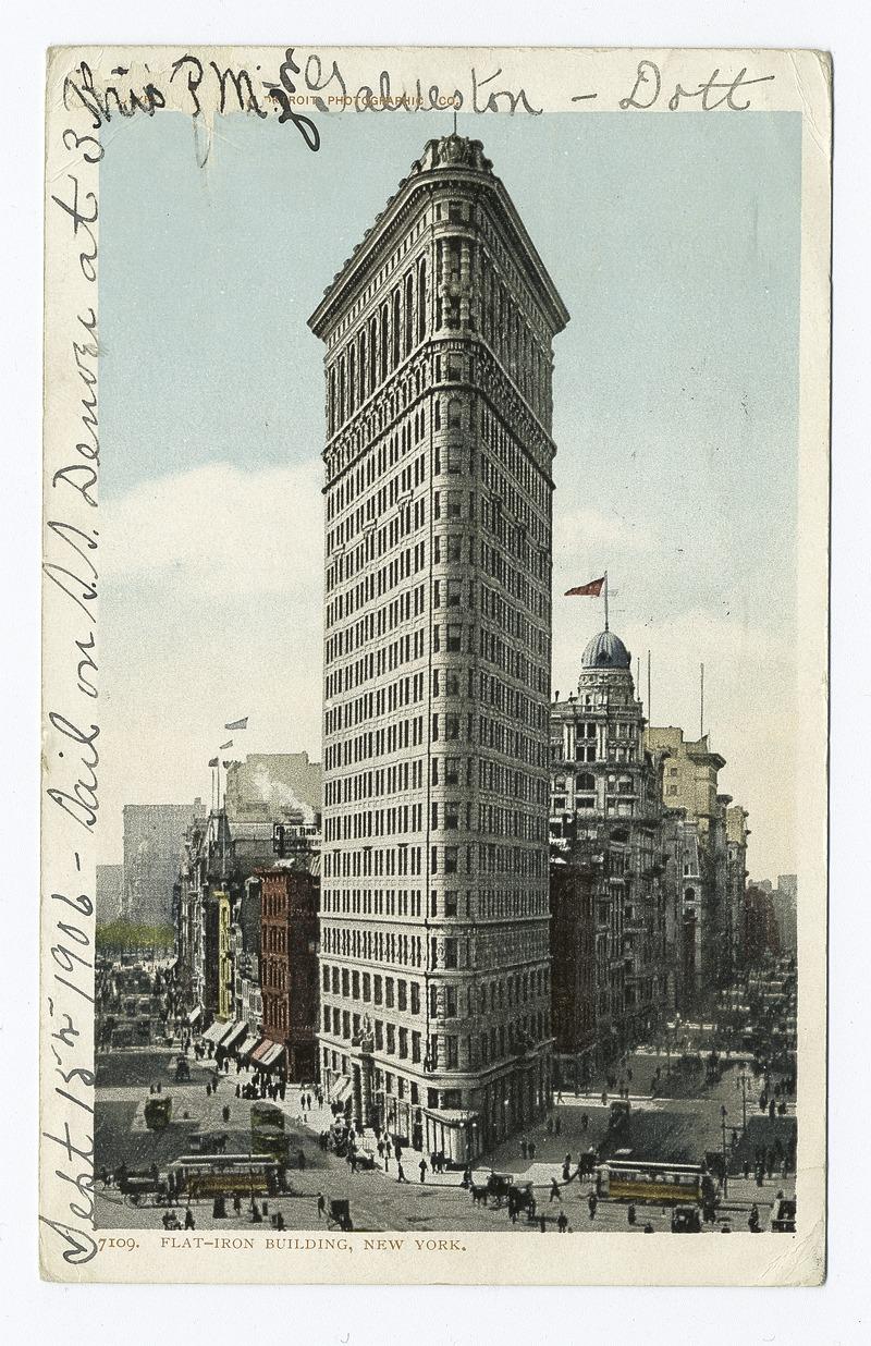 Flat Iron Building, New York, N. Y (NYPL b12647398-66342).tiff