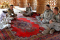 Flickr - The U.S. Army - Planning meeting with a sheik in Karmat Ali.jpg