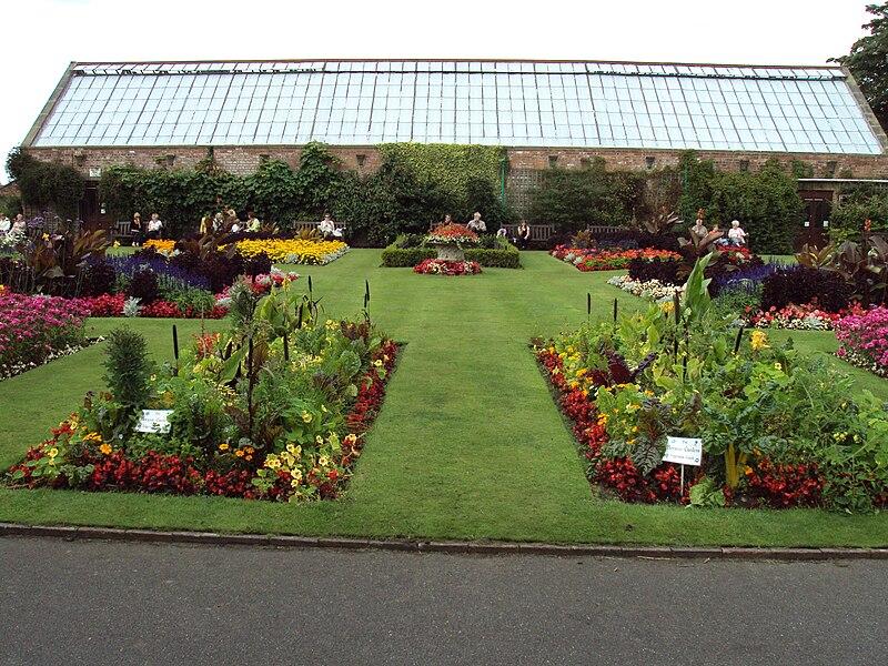 File:Flower garden, Botanic Gardens, Churchtown 1.JPG