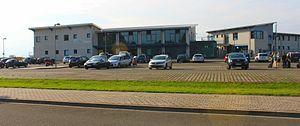 Magdeburg–Cochstedt Airport - Image: Flughafen Magdeburg Cochstedt