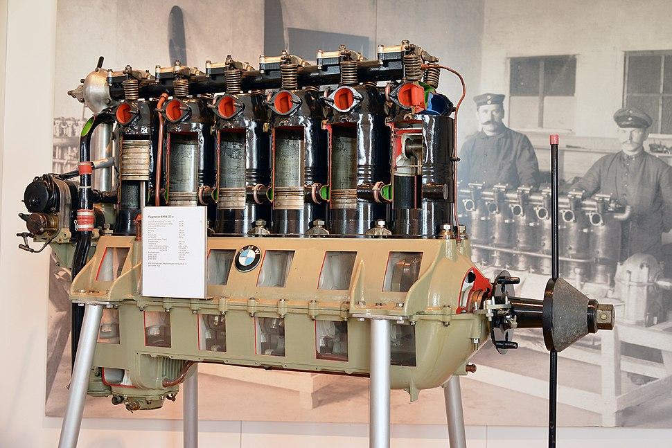 Flugmotor BMW IIIa
