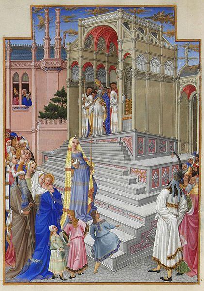 File:Folio 54v - The Purification of the Virgin.jpg