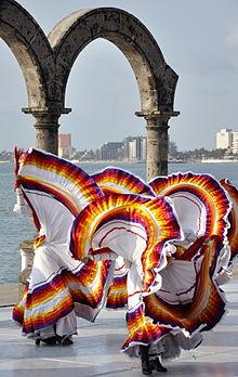 6ea0bce848 Baile folclórico de México - Wikipedia