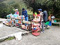 Food and drinks for sale at Llulluchapampa.jpg