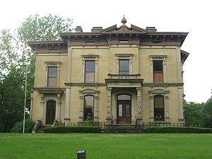 East High Street Historic District (Springfield, Ohio) - The Foos Manor, 810 High