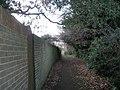 Footpath between Bellevue Lane and Christopher Way - geograph.org.uk - 646982.jpg