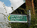 Footpath sign - geograph.org.uk - 245773.jpg