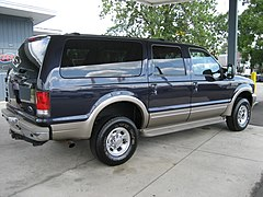 Ford Excursion Limited Rear View