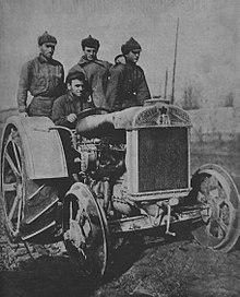 7f3bd2b25b The copy of Fordson F under the brand Fordson-Putilovets. Ukrainian SSR 1930