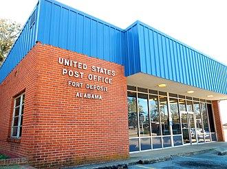 Fort Deposit, Alabama - Image: Fort Deposit, Alabama Post Office 36032