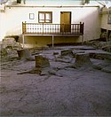 Fossil Tree Stumps at Fossil Grove Glasgow 1977.jpg