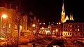 Foto, http-www.fleno.de Lautrupsbach Flensburg am Abend mit Blick auf die St. Jürgen Kirche - panoramio.jpg