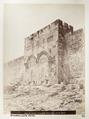 Fotografi på den gyllene porten i Jerusalem - Hallwylska museet - 104366.tif