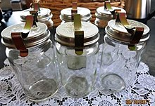 Australian Glass Jar Itres Or More