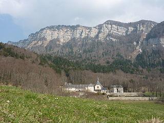 Monastère de Chalais abbey located in Isère, in France