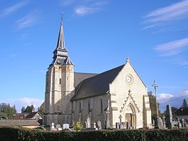 The church in Saint-Philbert-des-Champs