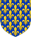 Île-de-France coat of arms (1st version)