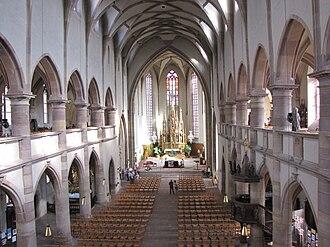 Molsheim - Image: France Molsheim Eglise des Jesuites Nef