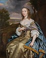 Frances Vaughan, Countess of Carbery (d.1650) by Mary Beale in 1670.jpg