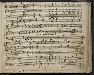 Psalm 110 - Francesco Durante - Dixit Dominus