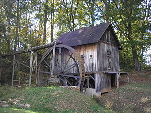 Francis Grist Mill - Francis Grist Mill, October 2014